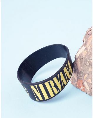 Бралет на руку з написом nirvana | 237090-02-XX