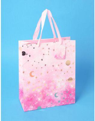 Пакет подарунковий з малюнком сузір я | 237525-17-03