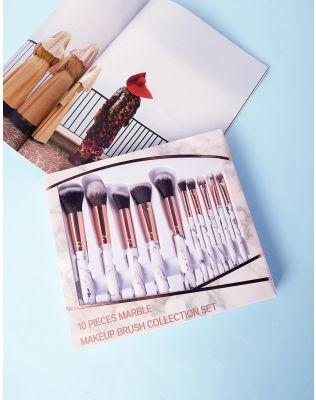 Пензлики для макіяжу у наборі 10 шт   237787-29-XX