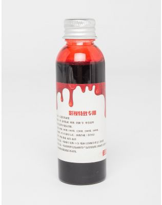 Кровь искусственная к хеллоуину в бутылочке 60мл | 227227-15-XX