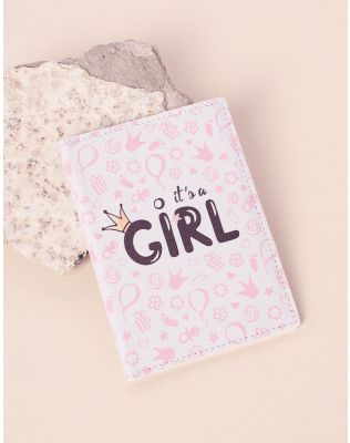 Обкладинка на паспорт з написом girl | 237736-14-XX