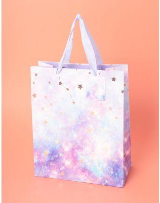 Пакет подарунковий з малюнком сузір я | 237525-18-03
