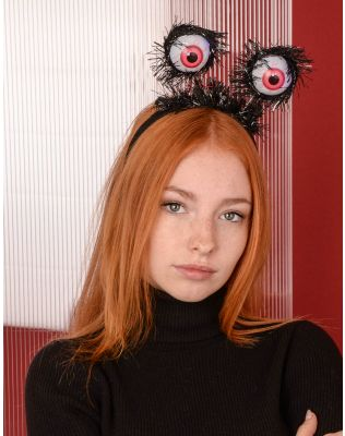 Обідок для волосся на хелоуін з очима, що світяться | 238929-02-XX