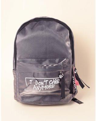 Рюкзак для міста з написом на кишені   238549-28-XX