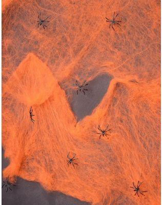 Павутиння штучне з павуками на хелоуін | 233855-26-XX