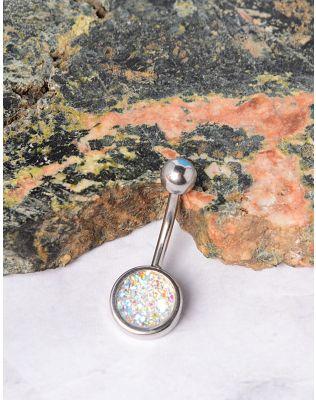 Сережка для пірсингу у пуп з каменем | 234858-05-XX