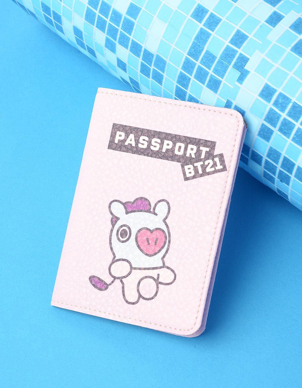 Обкладинка на паспорт з bts bt21 MANG  Хосок | 237250-35-XX
