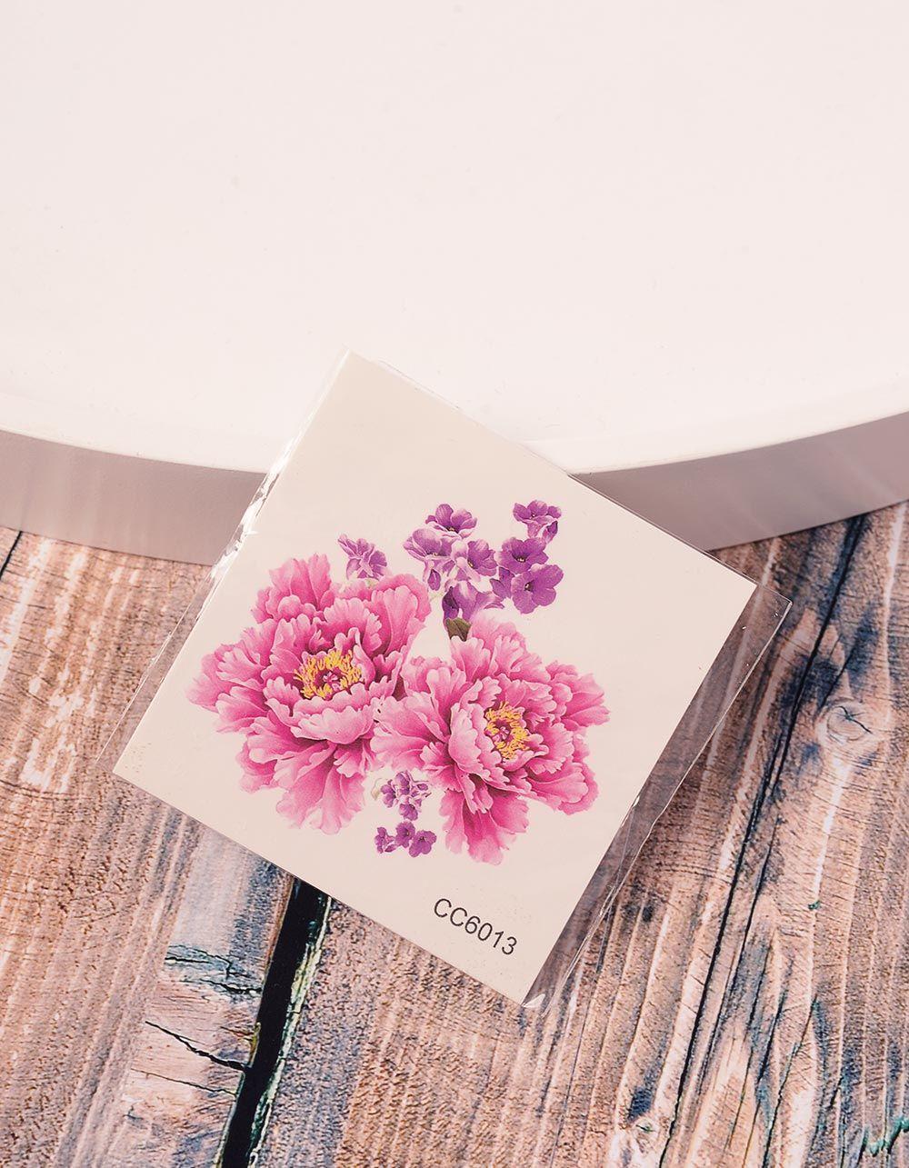 Тату тимчасове з квітами | 236375-17-XX