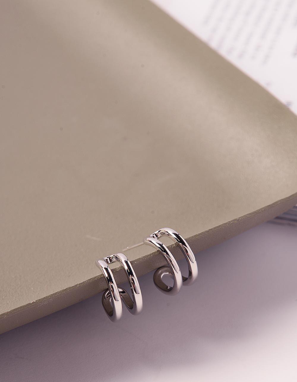 Сережки кільця маленькі з гвіздочками | 240167-05-XX