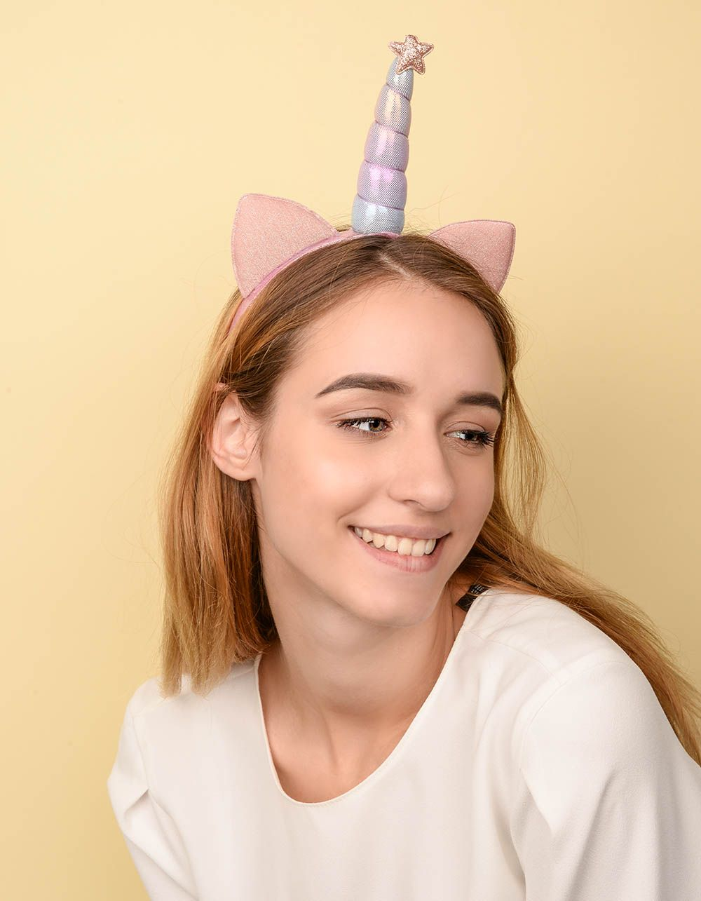Обідок для волосся у вигляді єдинорога | 237771-14-XX