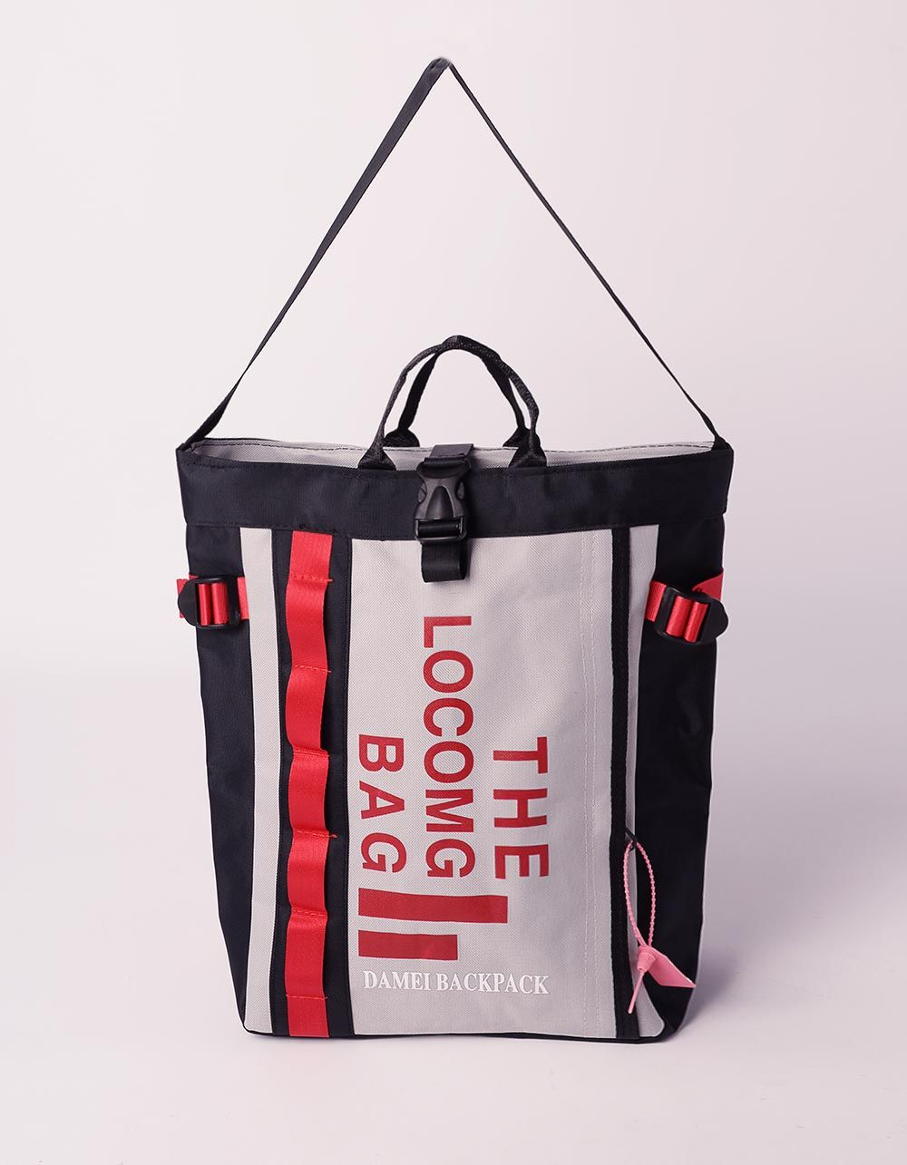 Рюкзак трансформер стильний з написом   239361-11-XX