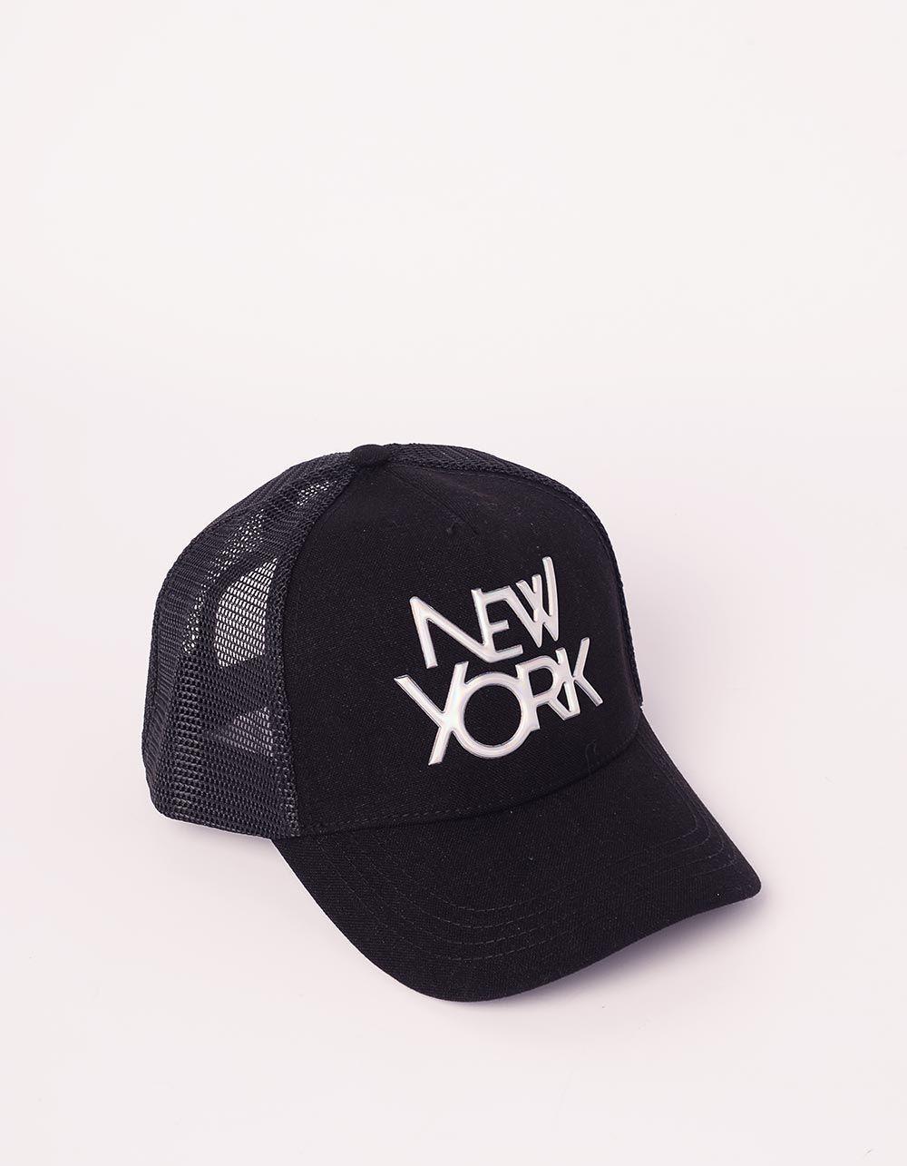 Бейсболка з написом NEW YORK | 240880-21-XX