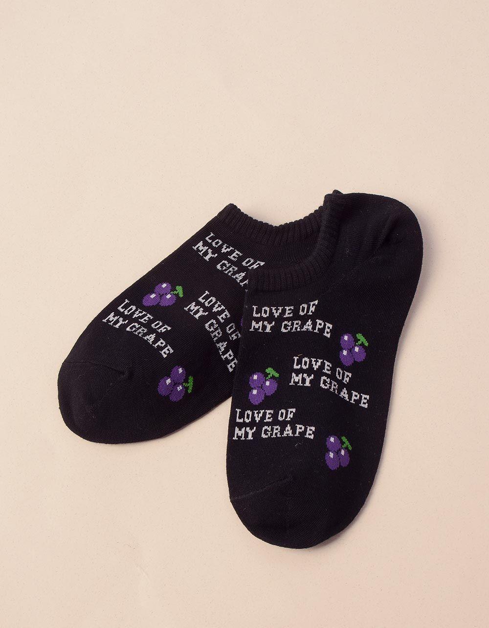 Шкарпетки з принтом фруктів | 241090-02-XX