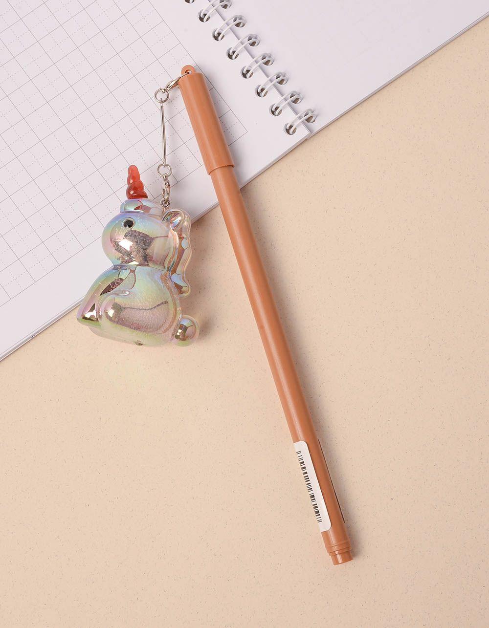 Ручка з брелоком єдинорогом | 237939-12-XX