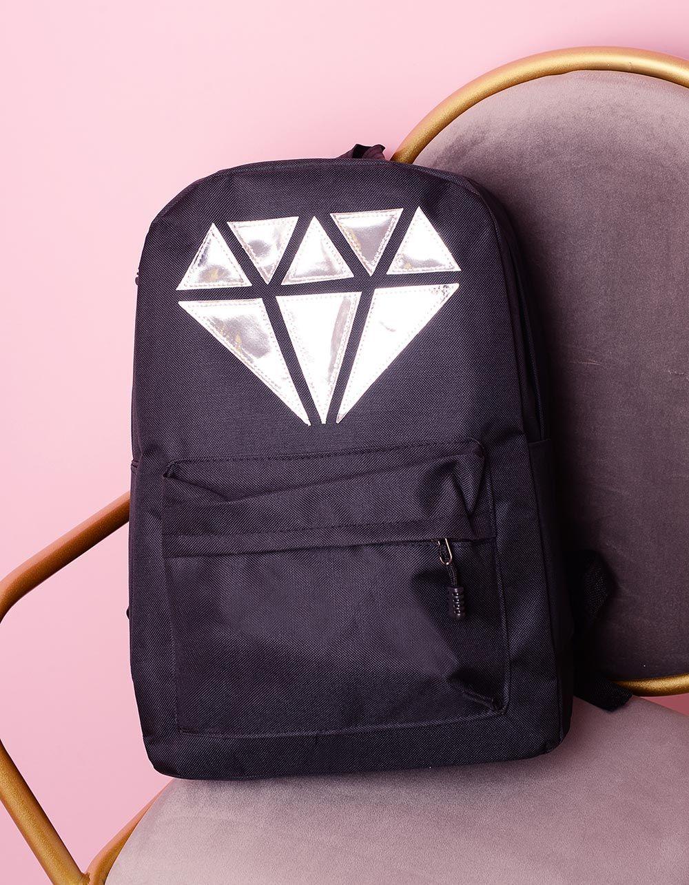 Рюкзак для міста з зображенням діаманта | 236644-02-XX