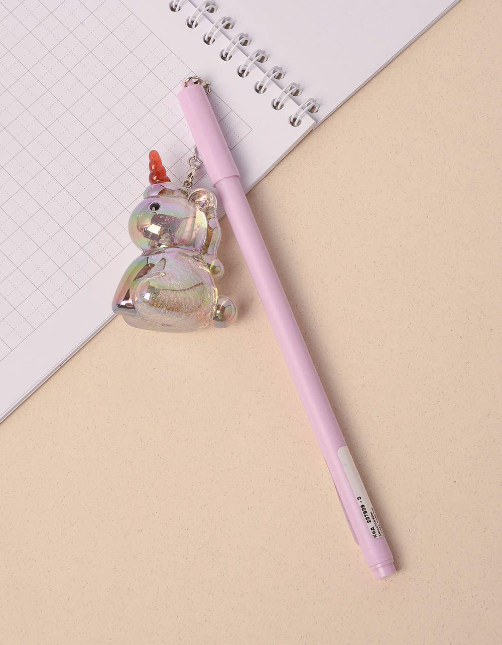 Ручка з брелоком єдинорогом | 237939-03-XX
