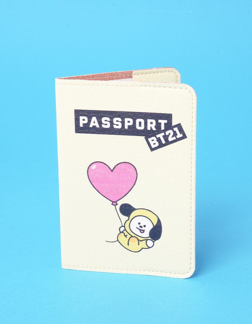 Обкладинка на паспорт з bts bt21 CHIMMY  Чимин   237245-42-XX