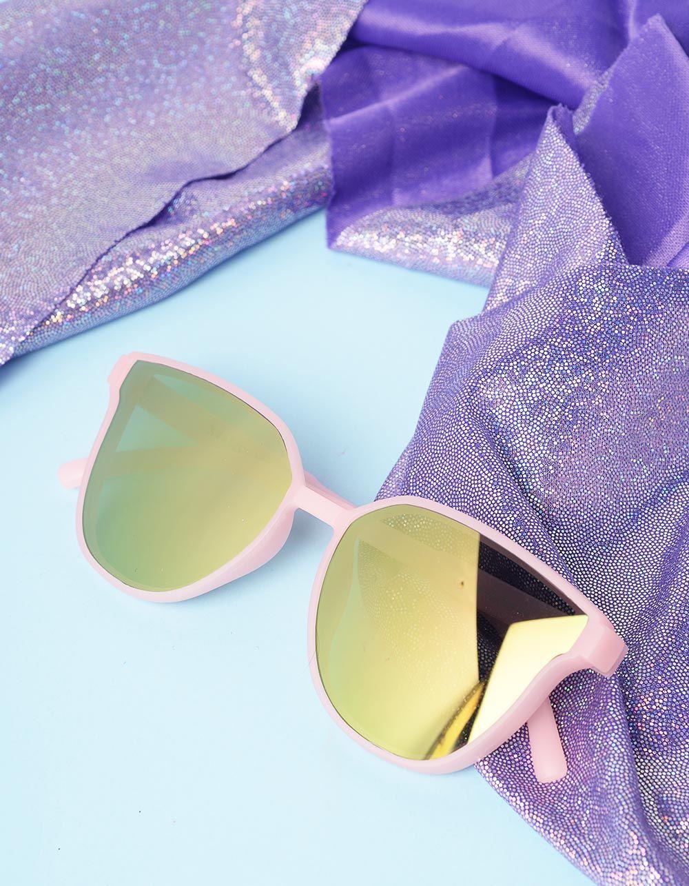Окуляри дитячі сонцезахисні з кольоровою оправою | 236187-14-XX