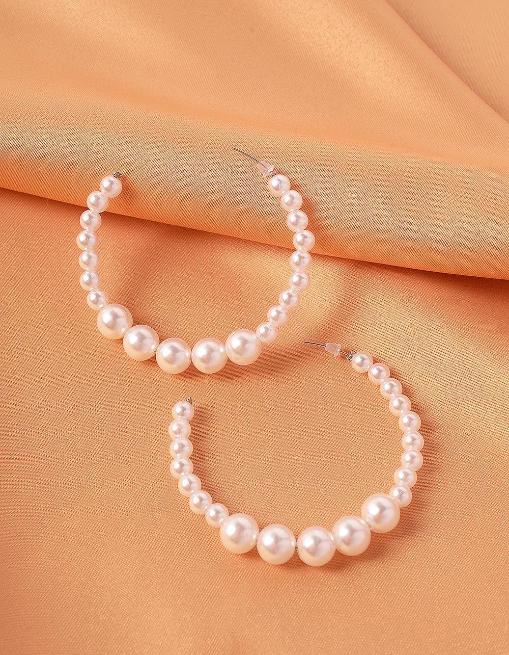 Сережки із перлин | 239717-01-XX