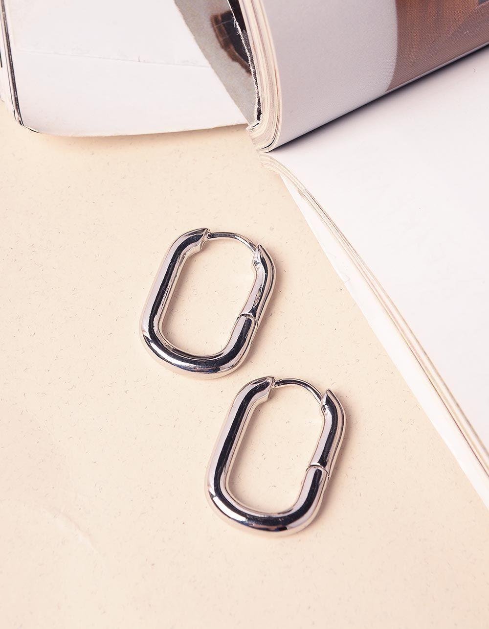 Сережки у вигляді подовжених кілець | 240194-05-XX