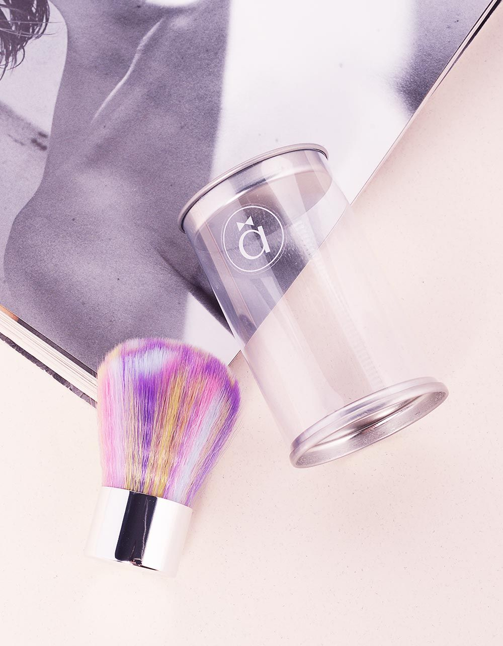 Пензлик для макіяжу кольоровий | 237783-21-XX