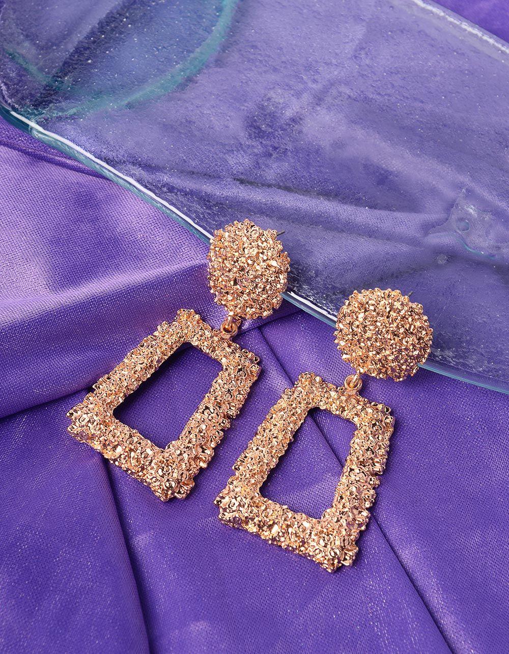 Сережки з рельєфним покриттям | 239561-04-XX