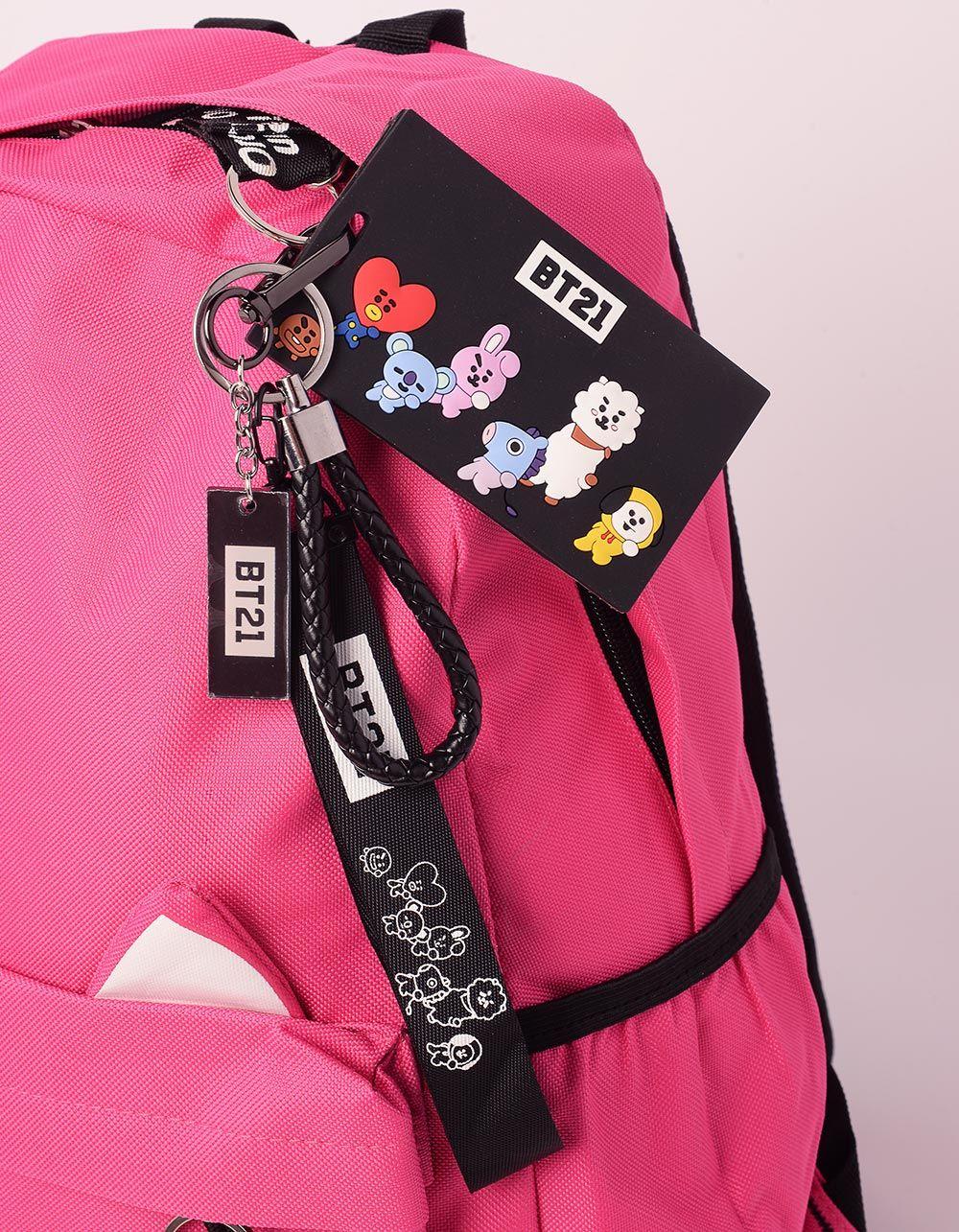 Брелок на сумку з принтом BP BTS BT21 | 238654-21-XX