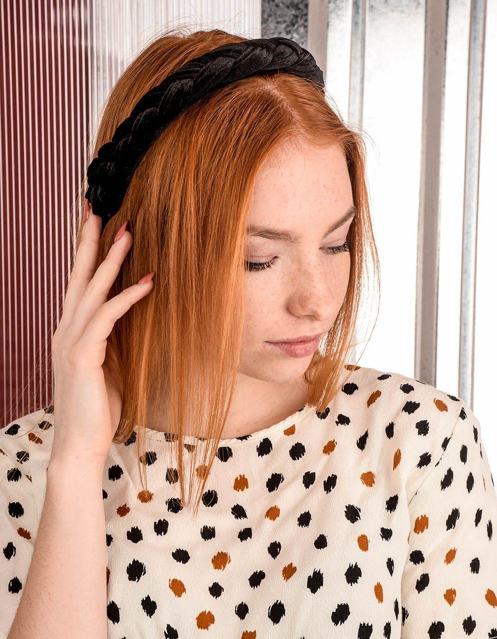 Обідок для волосся з косою | 239020-02-XX