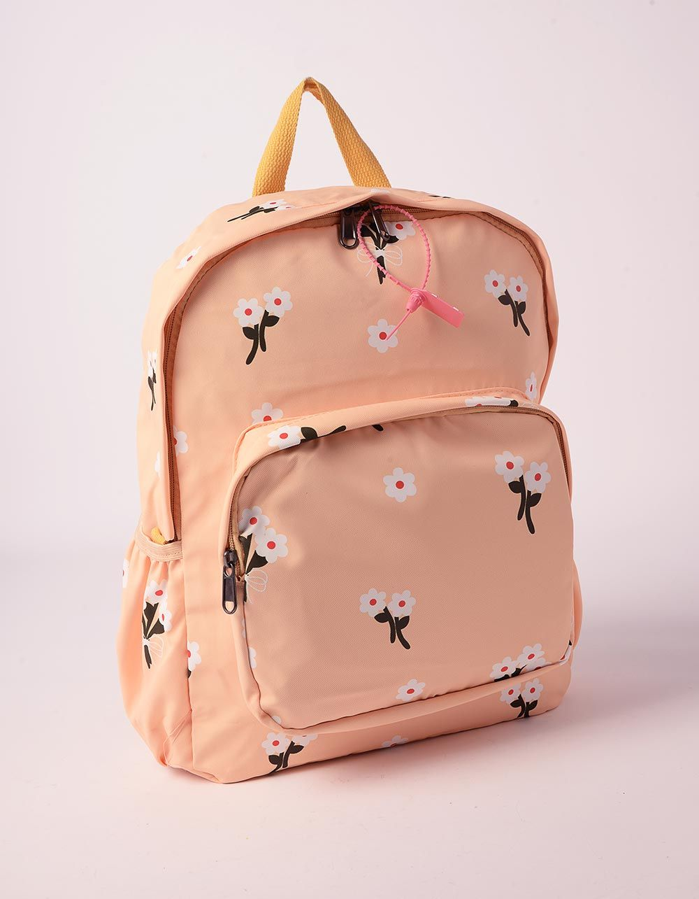 Рюкзак із тканини з принтом фруктів та квітів | 239348-19-XX