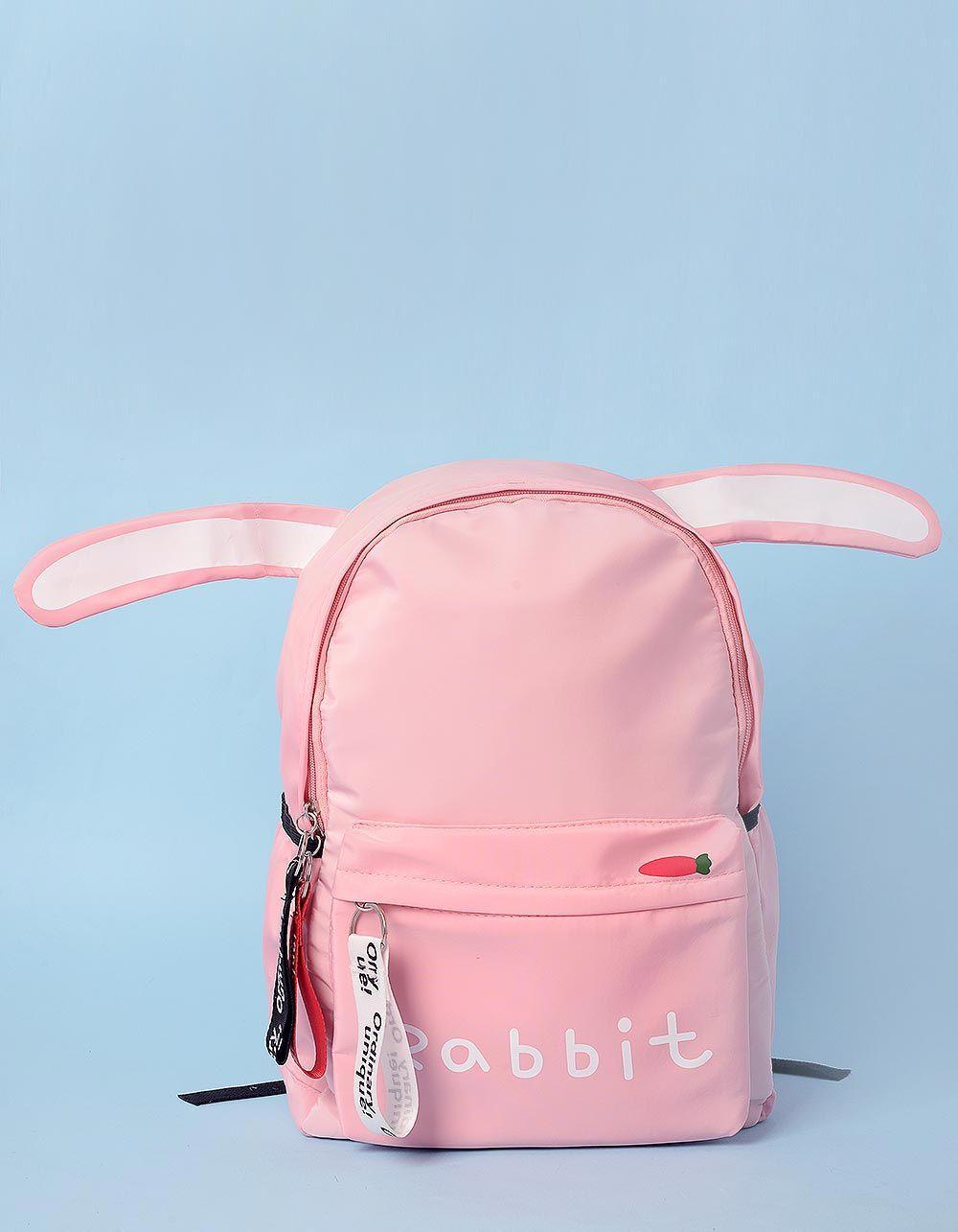 Рюкзак з вушками та написом на кишені | 233445-14-XX