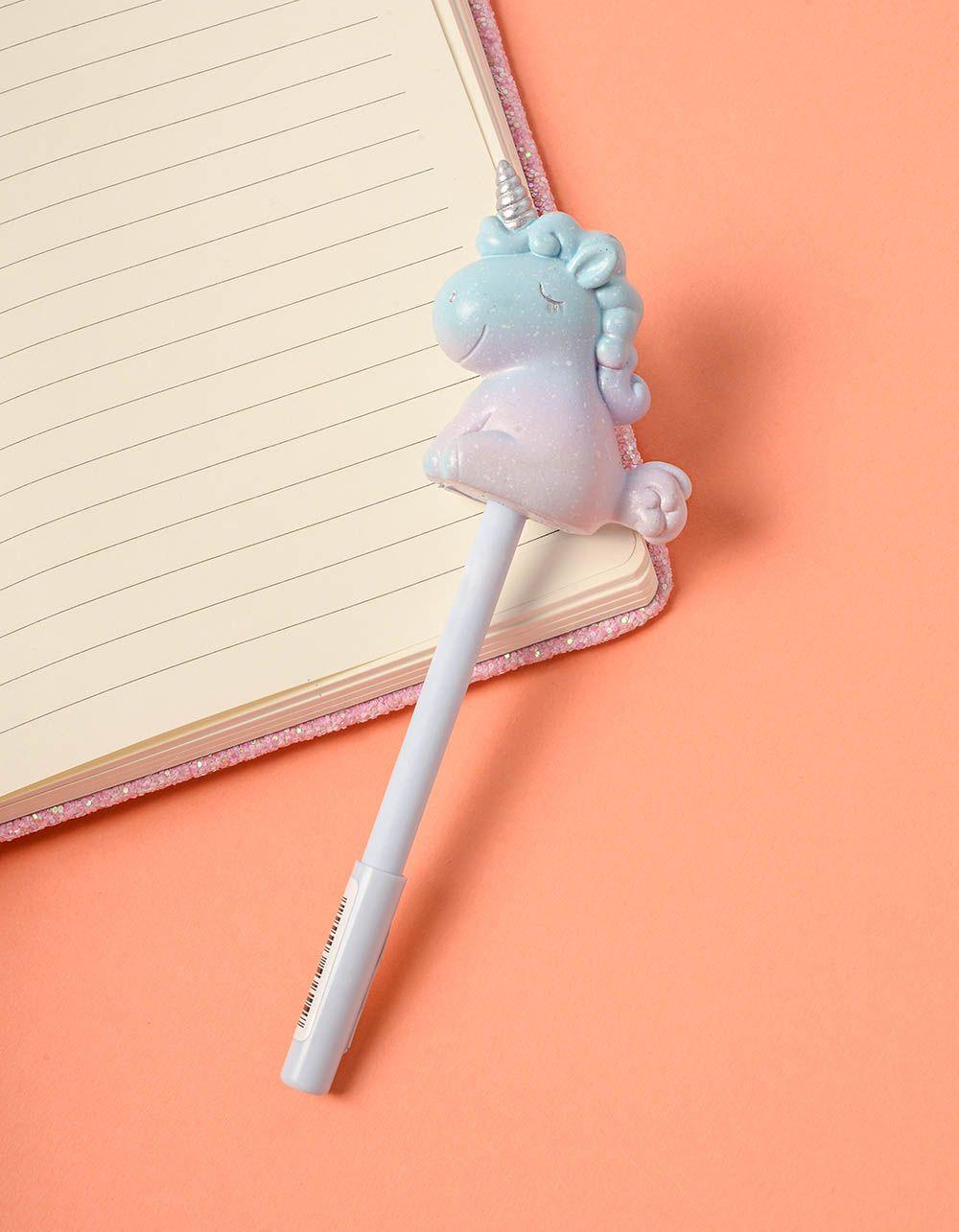 Ручка з єдинорогом на кінці | 237943-35-XX