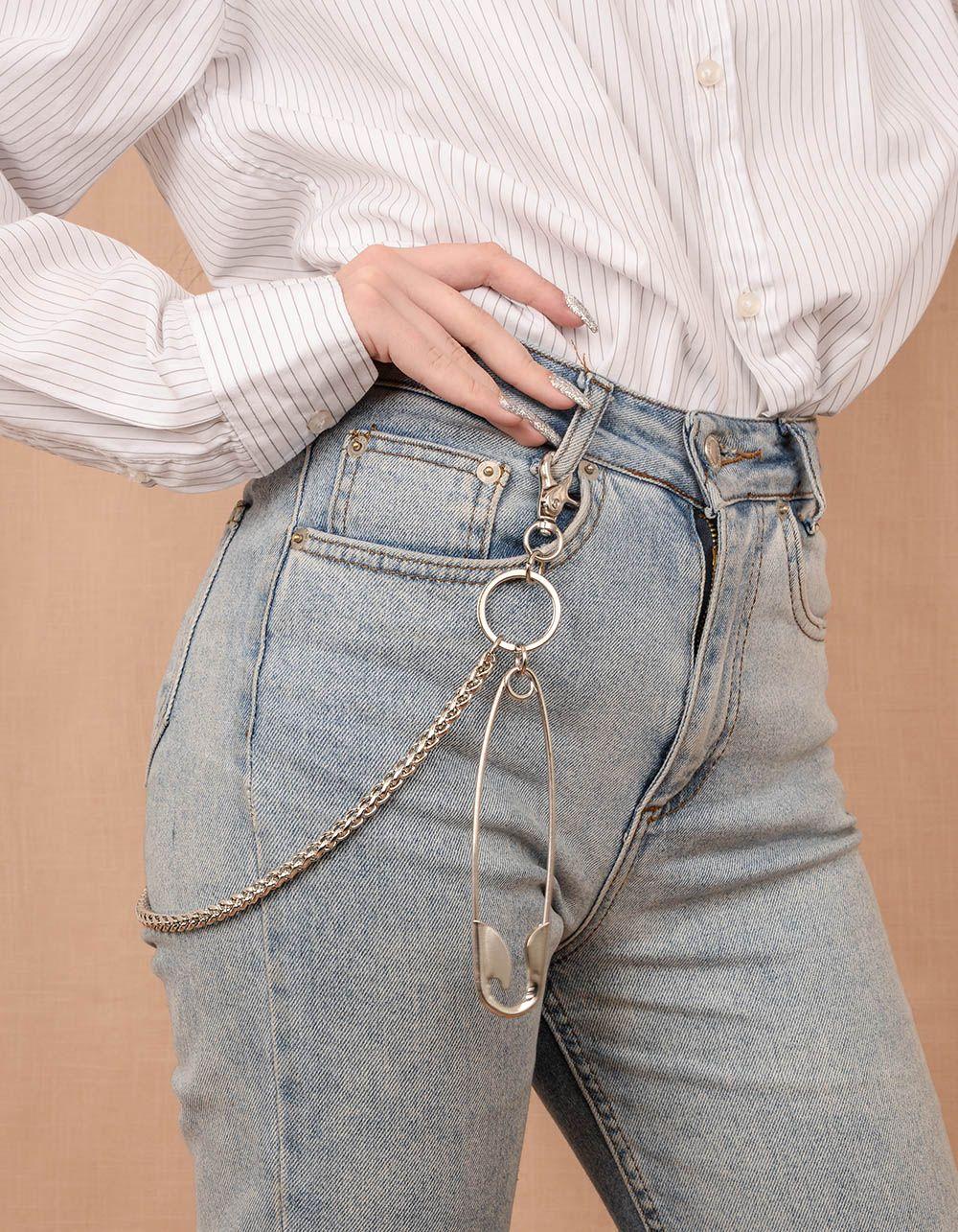 Ланцюжок на одяг з булавкою | 240113-05-XX