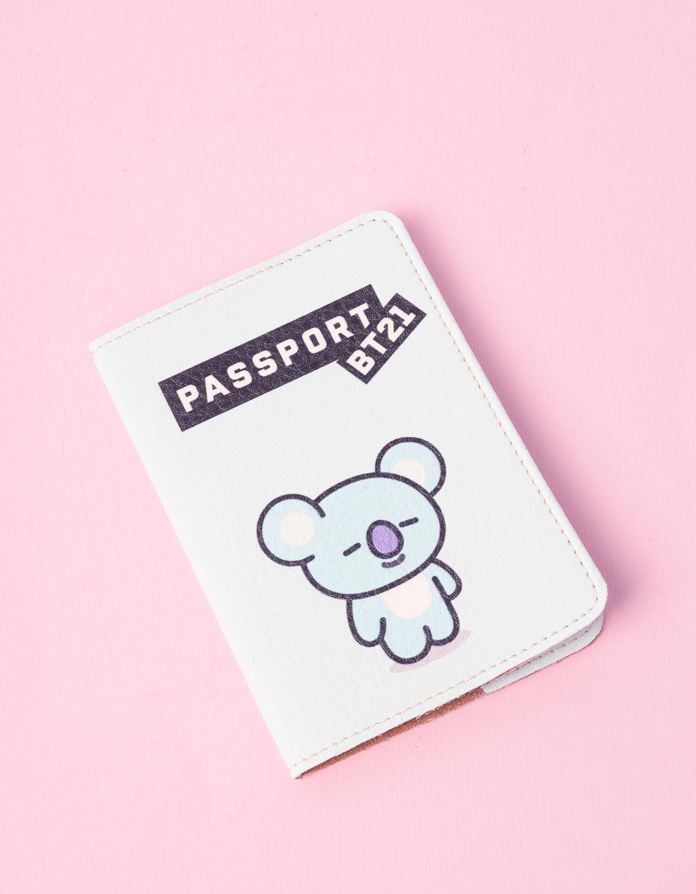Обкладинка на паспорт з принтом KOYA Рэп Монстр bts bt21 | 237251-18-XX