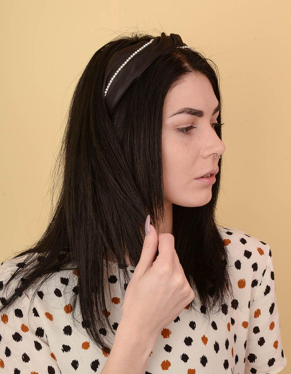Обідок для волосся зі стразами | 238671-02-XX