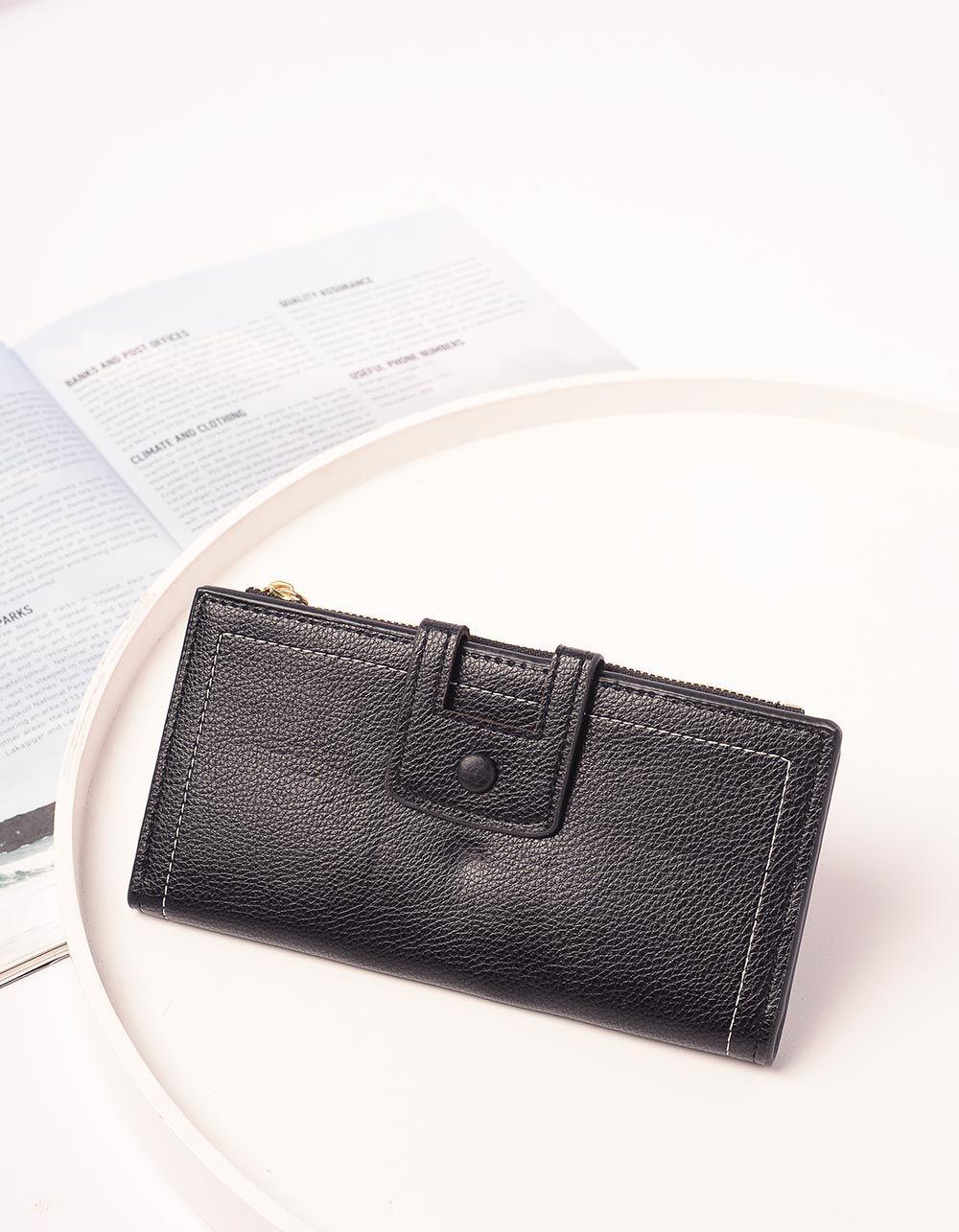 Гаманець жіночий з відділом для візиток та карток | 239114-02-XX