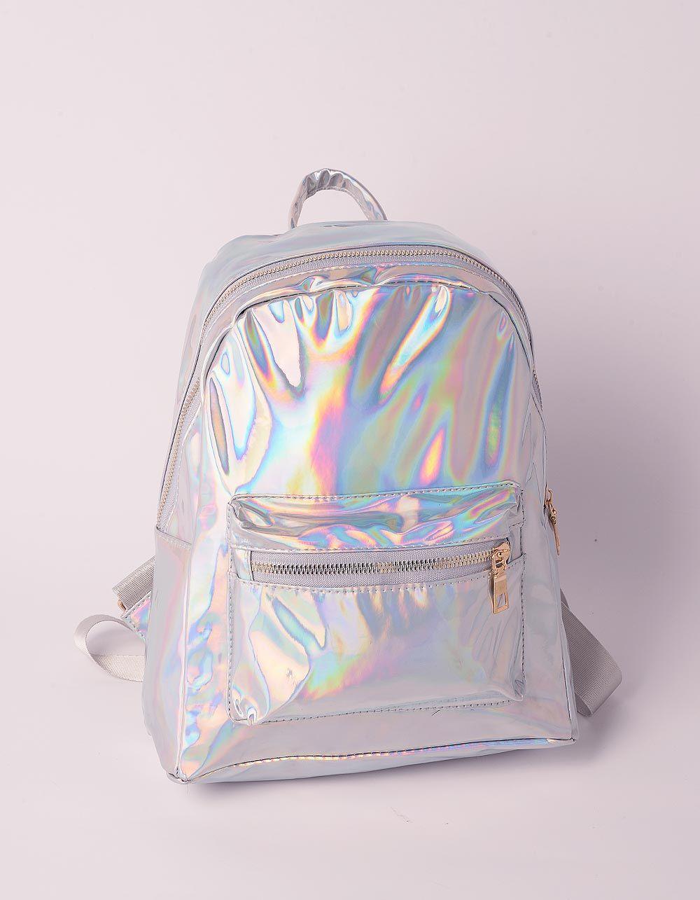 Рюкзак для міста голографічний з кишенею | 239531-05-XX