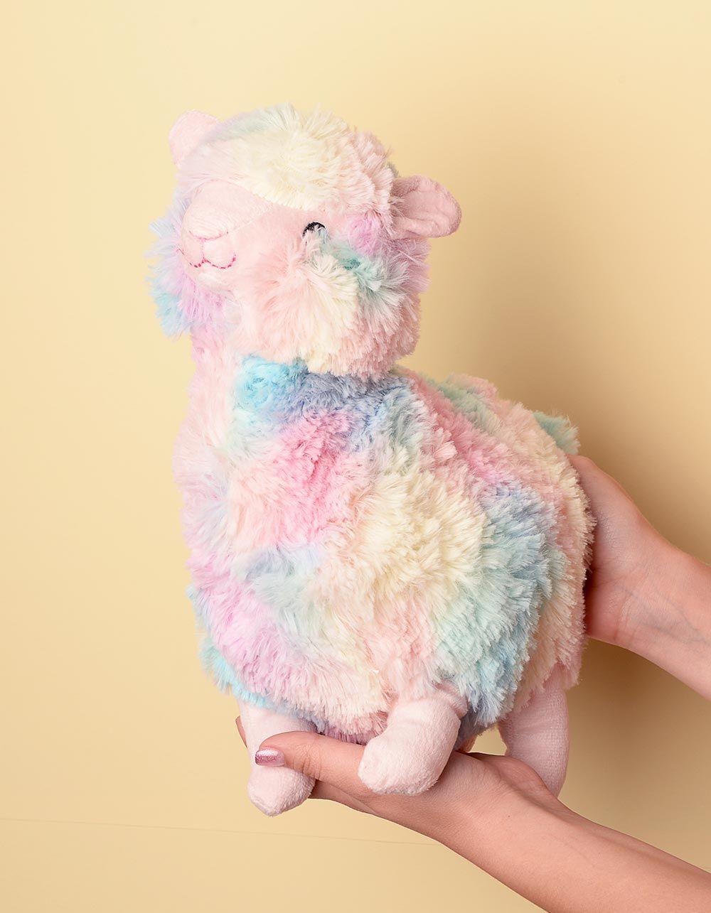 Іграшка м яка кольорова у вигляді альпака | 238286-21-XX