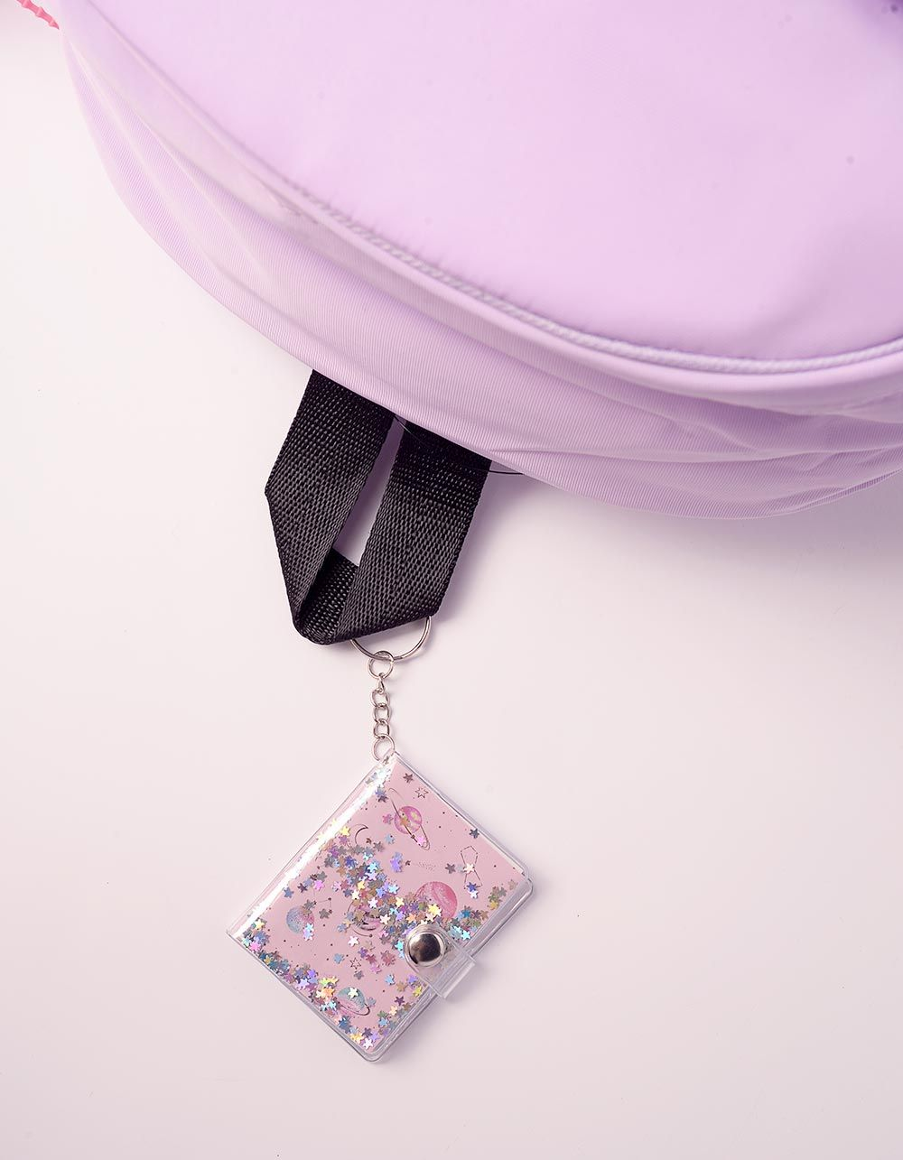 Брелок блокнот на сумку з зірочками | 239098-14-XX