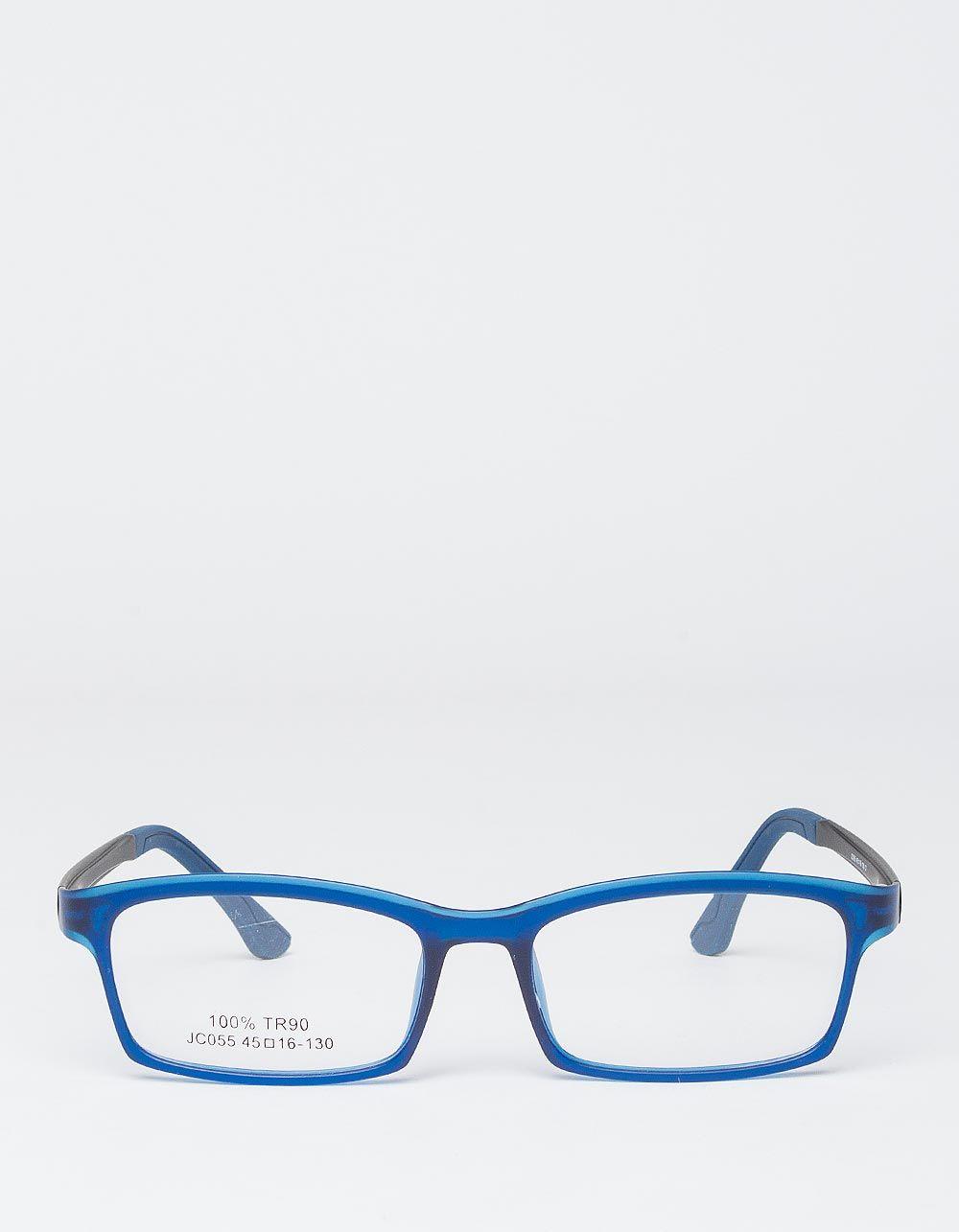 Окуляри іміджеві вузькі з кольоровою оправою | 227543-13-XX