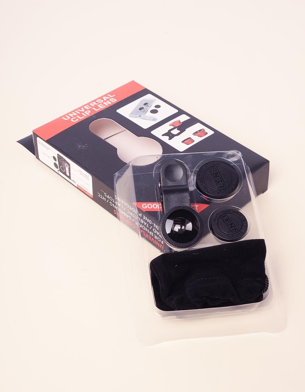 Лінзи для телефону у наборі fisheye | 237363-02-XX
