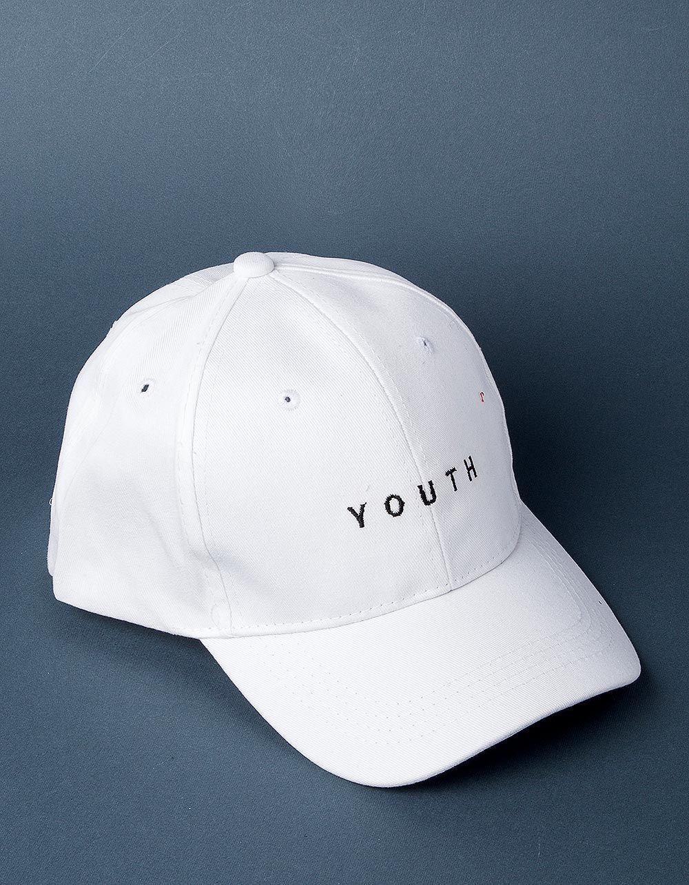 Бейсболка с надписью youth | 224020-01-XX