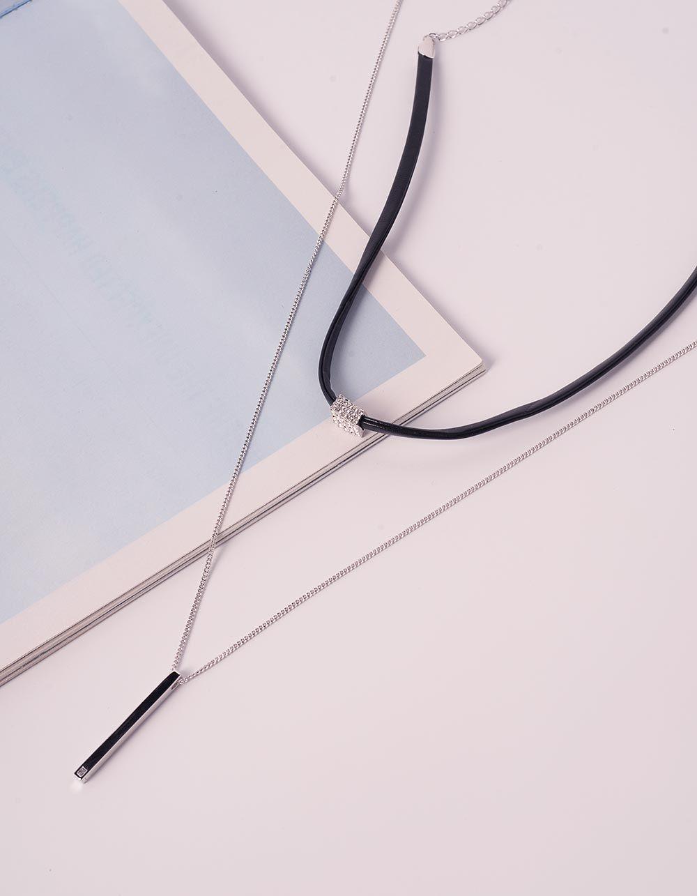 Підвіска чокер з кулоном | 240198-06-XX