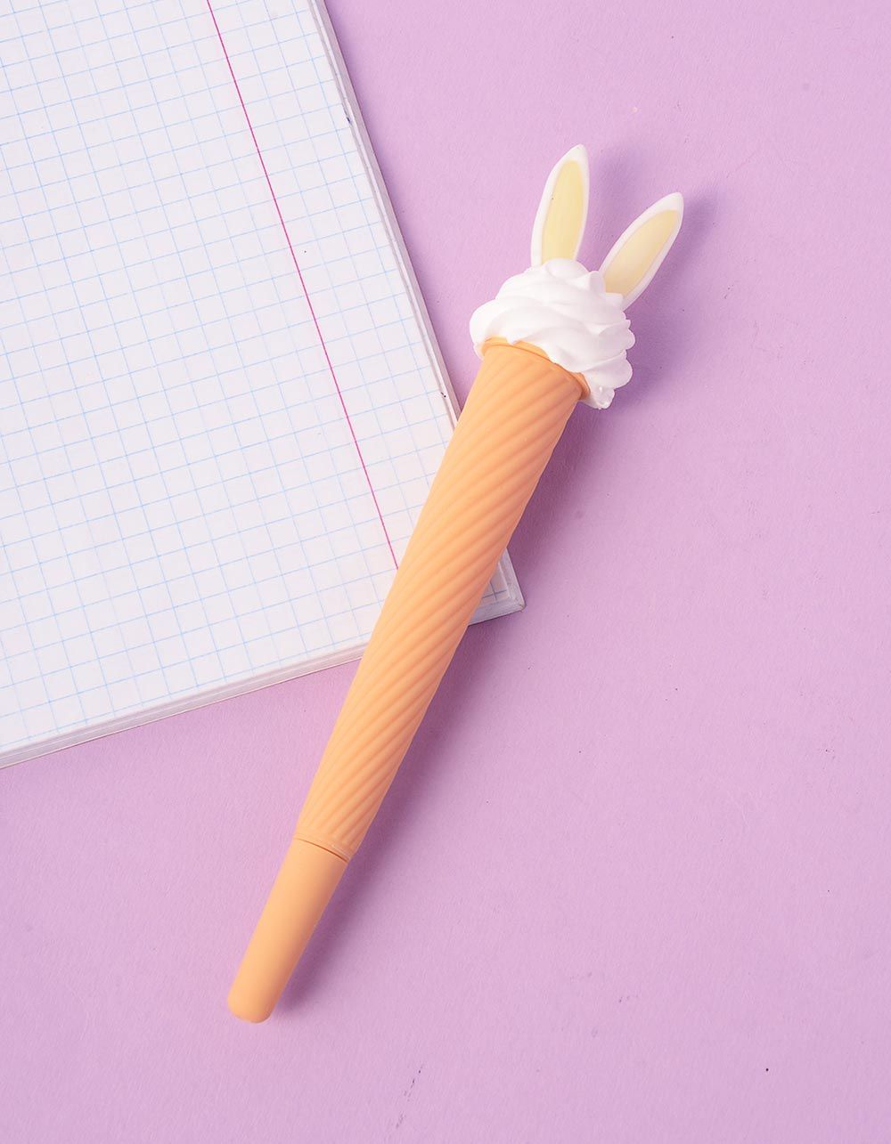 Ручка  у вигляді морозива з вушками | 237193-19-XX