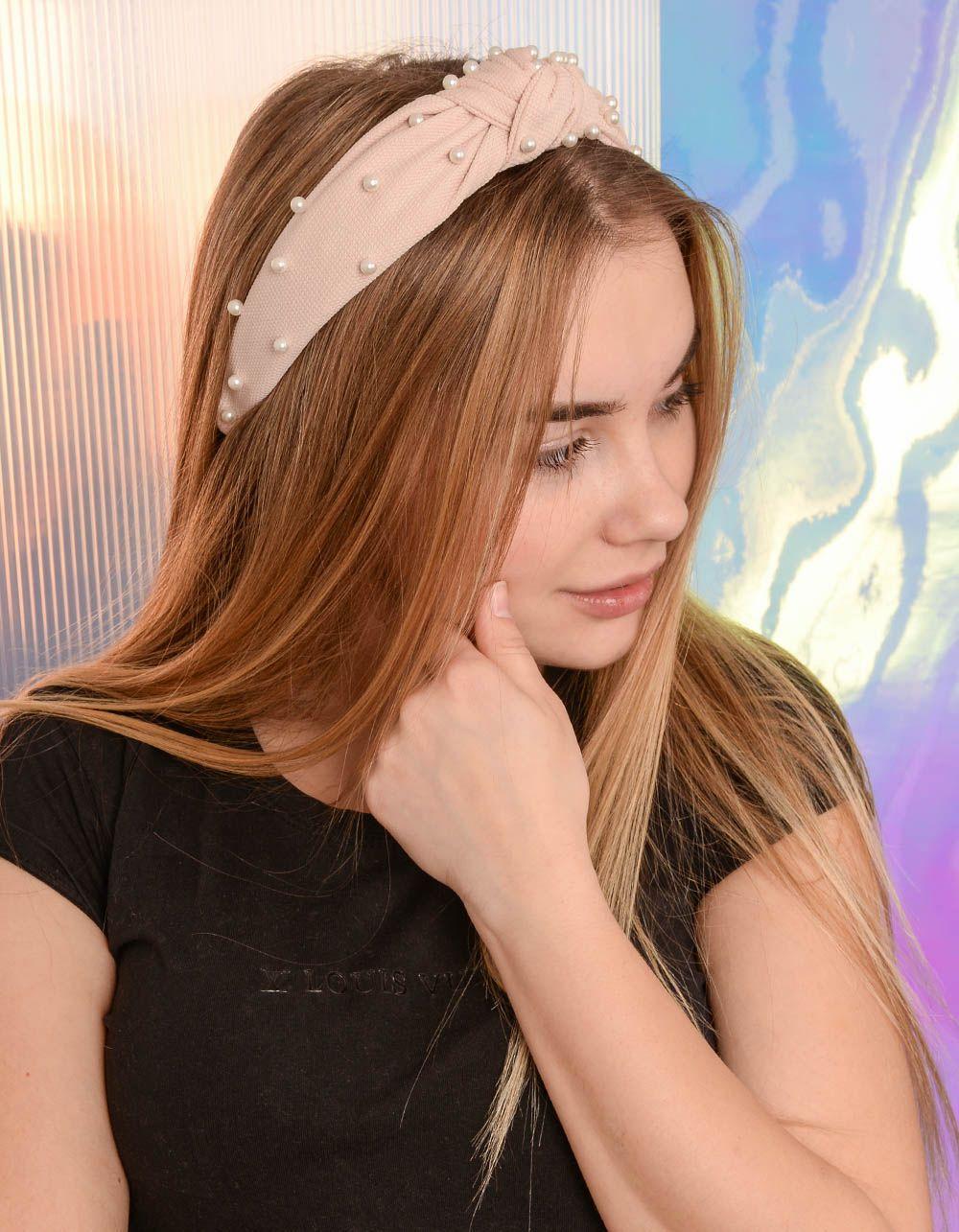 Обідок для волосся з перлинами | 239415-22-XX