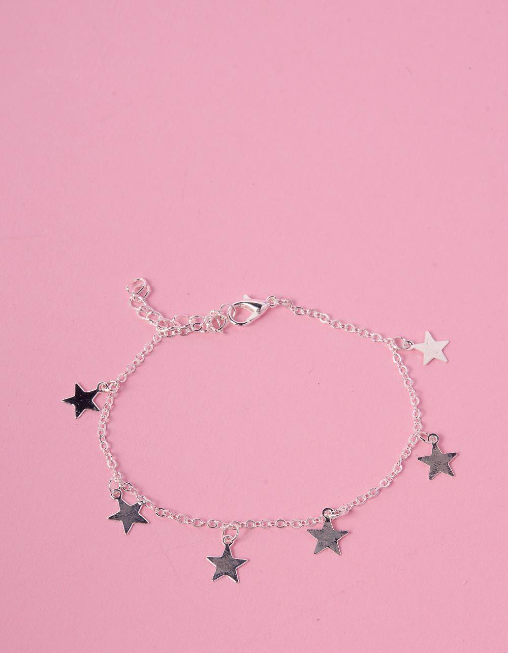 Браслет на ногу со звездами | 231558-05-XX