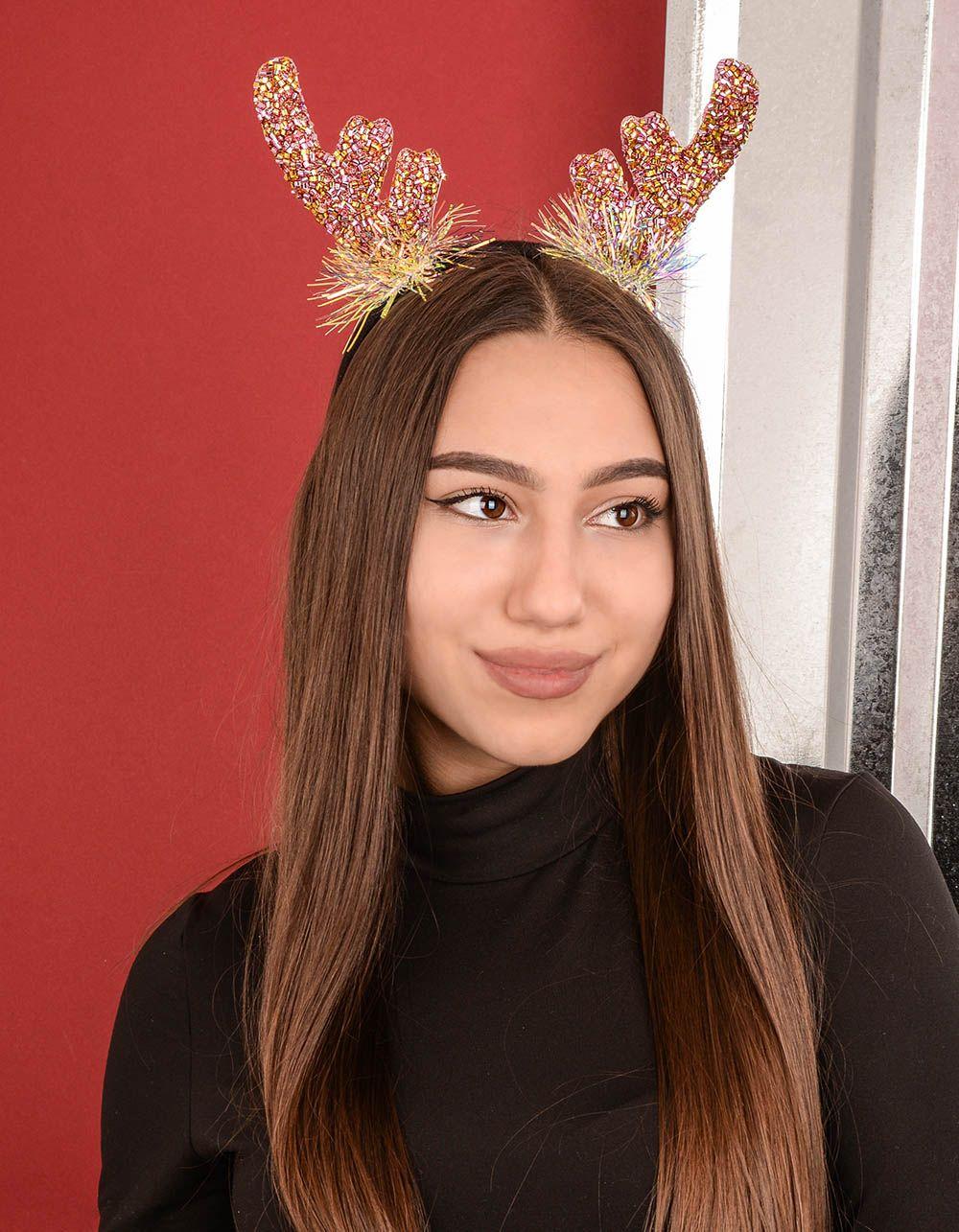 Обідок для волосся з рогами оленя | 239400-03-XX