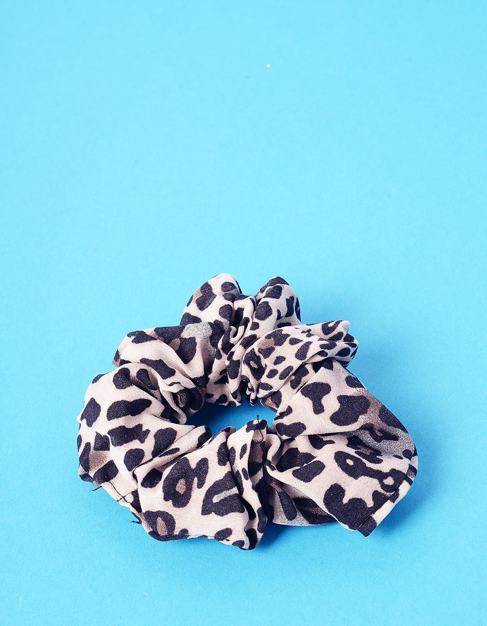 Резинка для волосся з леопардовим принтом | 237679-22-XX