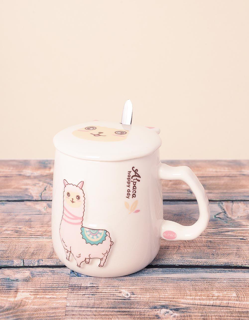 Чашка із зображенням альпака | 239030-14-XX