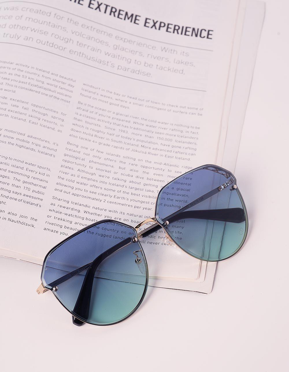Окуляри сонцезахисні з перфорацією | 239609-13-XX