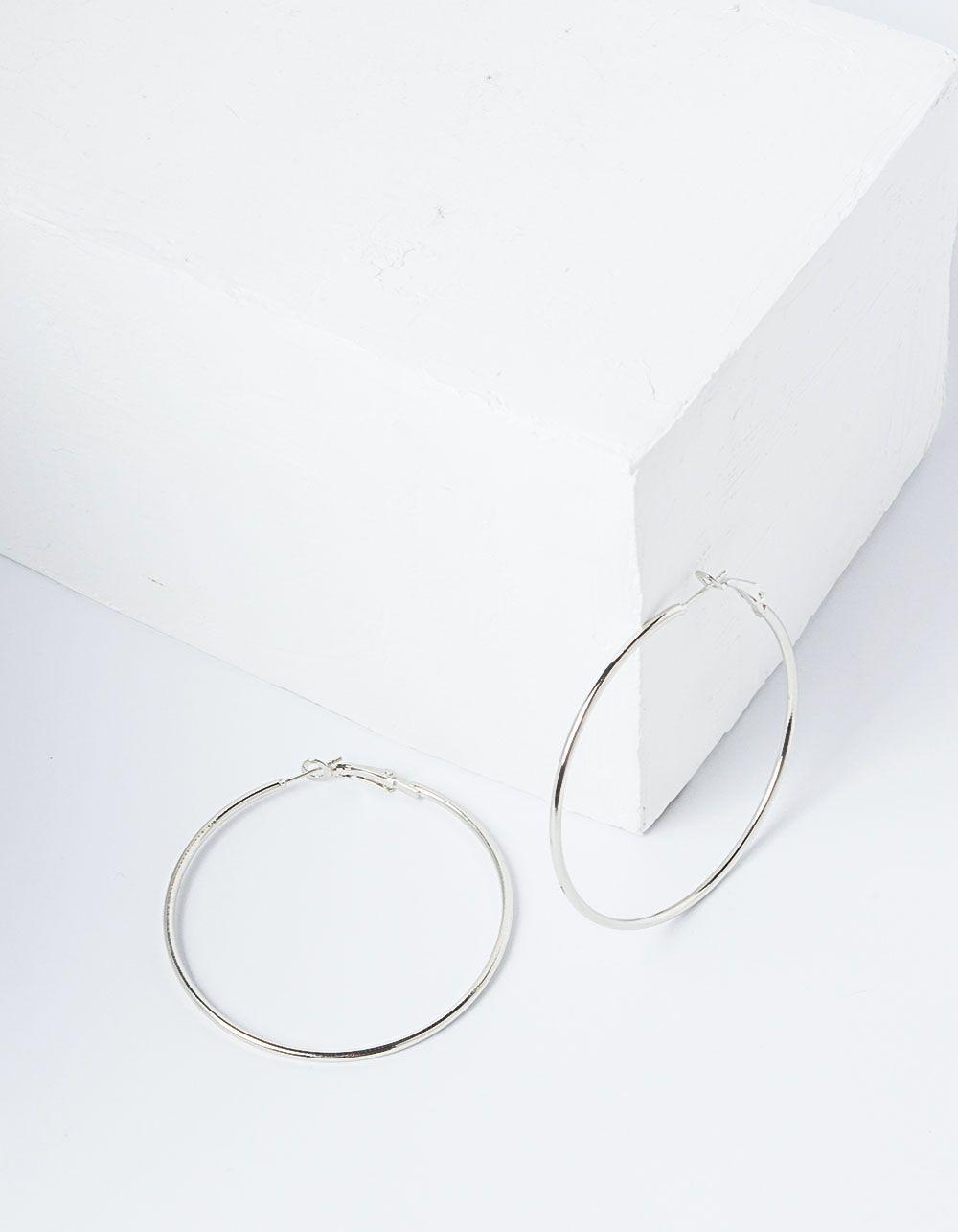 Серьги кольца средней величины | 227829-05-XX